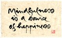 Thu phap 9-Mindfulness